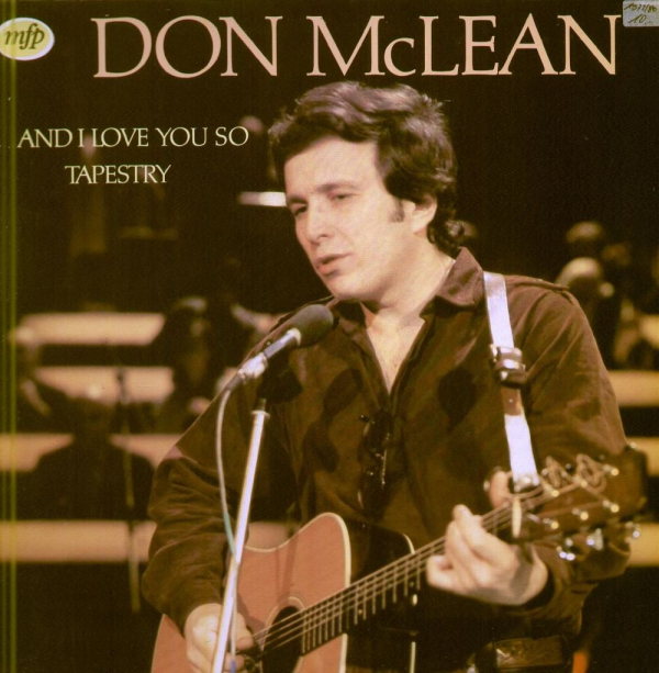 "Don McLean và ""And I love you so"""