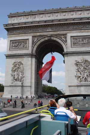 Khải Hoàn Môn Paris, kiến trúc trụ vững qua dòng thời gian