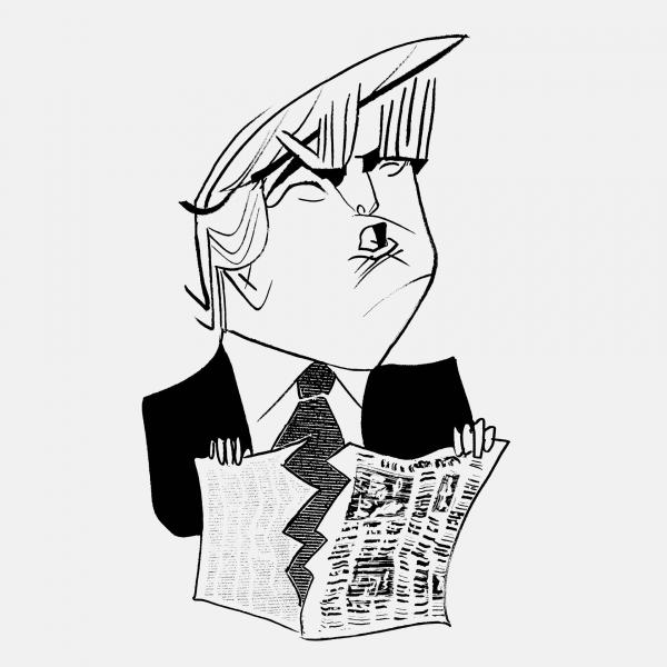 """Ông Trump và """"báo chí thổ tả"""""""