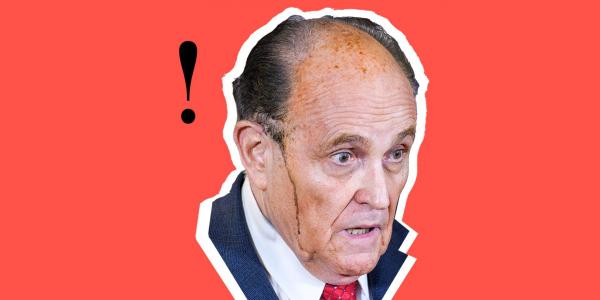 Luật sư Rudy Giuliani và một dấu chấm hết cuối đời