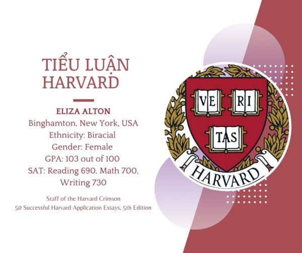 Tiểu luận Harvard - Eliza Alton