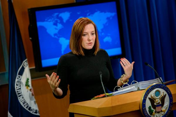 """Jen Psaki - thư ký báo chí Tòa Bạch Ốc """"không quái dị đầu tiên"""" trong bốn năm!"""