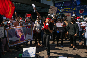 """Giới trẻ Myanmar và cuộc biểu tình dân chủ """"2222"""""""