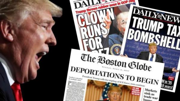Truyền thông Mỹ tụt view vì… thiếu Trump