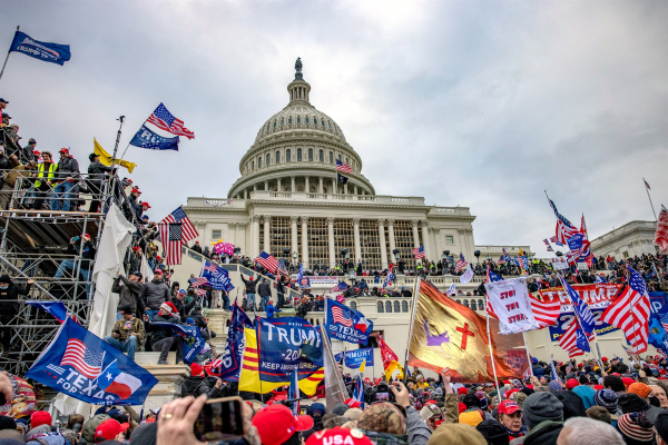Nhìn lại diễn tiến vụ bạo loạn ngày 6-1 tại Điện Capitol