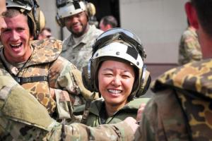 Danielle Ngô - từ một người tị nạn trở thành sĩ quan cao cấp quân đội Mỹ